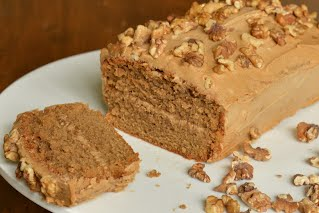 Coffee & Walnut Loaf Cake