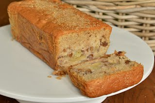Apple & Walnut Loaf Cake